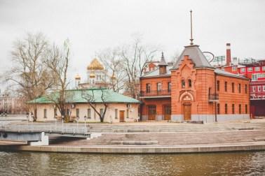 Обновленная Крымская набережная