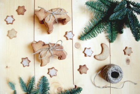 Готовим вместе: праздничное имбирное печенье
