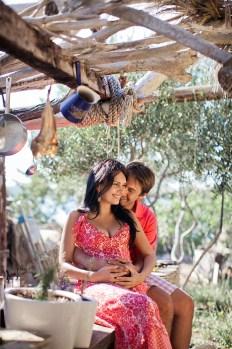 Уютная Хорватия: Тамара и Лука в ожидании дочки