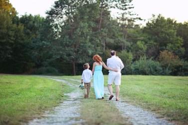 В узком семейном кругу свадьба Наташи и Саши (35)