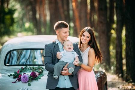 Сбежать из города: семейная съемка Алеси, Николая и Дани