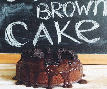 Готовим вместе: шоколадный торт с oreo