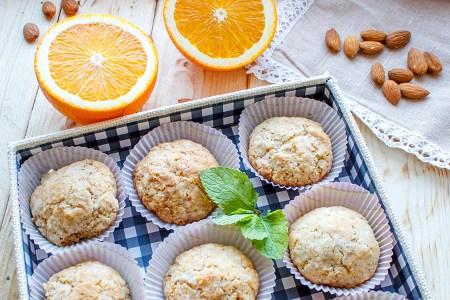 Миндальное печенье с апельсином