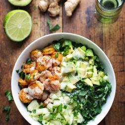 Salat s krevetkami ili kuricey (6)