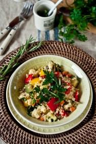 Рецепт кус-куса с овощами