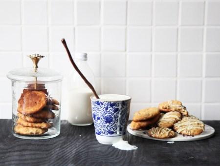 Рецепты для мамы: печенье, кисель и запеченные сливы