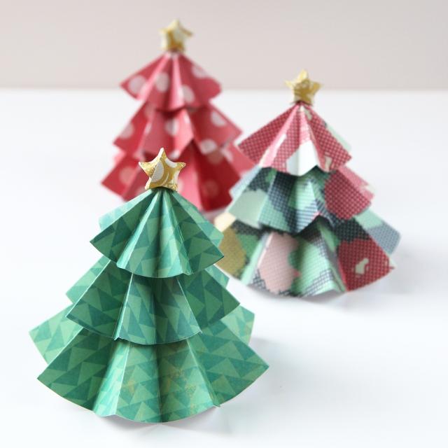 Мастерим новогоднее украшение: елочки
