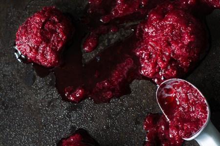 Рецепт ягодного сорбета