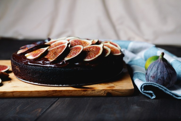 Рецепт шоколадного пирога с лимонным ганашем