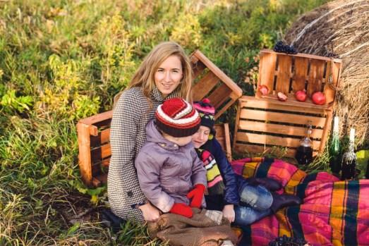 Счастливы вместе: Алина и Полина с родителями
