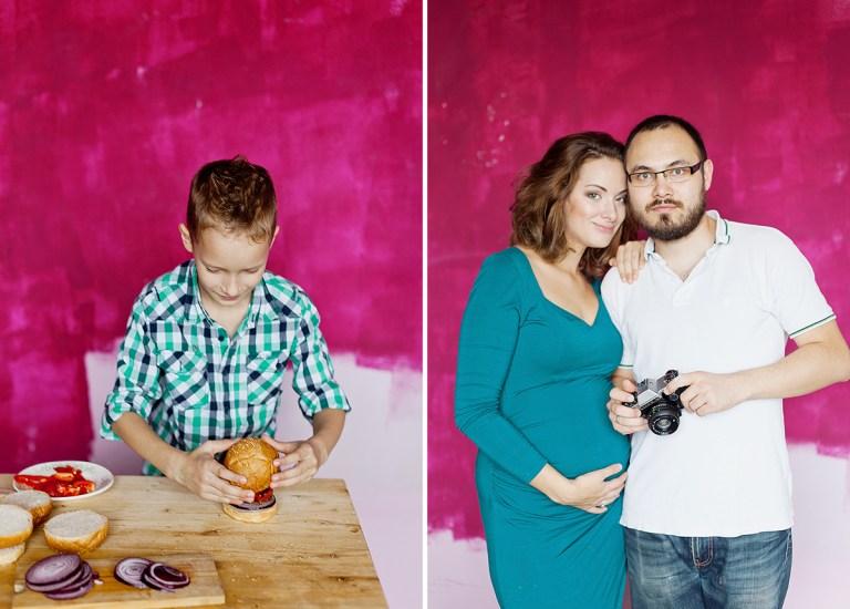 Семейная фотосессия: в ожидании Кира