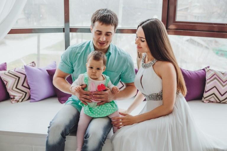 Маленькие радости: семейная фотосессия Алексея, Инны и Веры