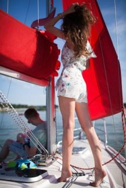 Трое в лодке: Юля, Саша и Егор