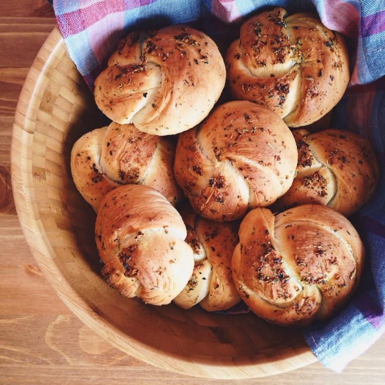 Быстрые рецепты от Вероники: булочки для завтрака