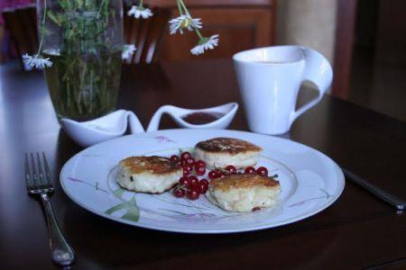 Рецепт домашних сырников