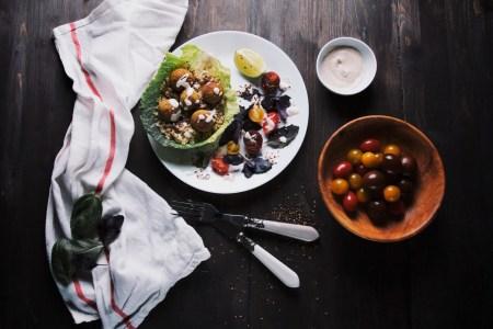 Рецепт фалафеля со свежими травами и фисташками