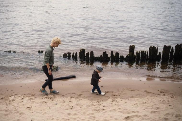 На Каменном острове: фотопрогулка Ани и Клары