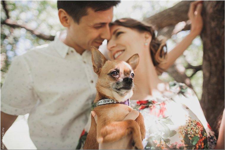 Семейная фотолетопись: Андрей, Полина и Арон
