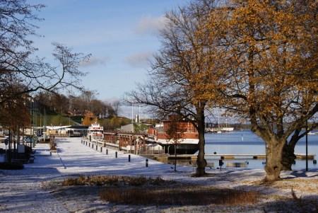 Самый первый снег: прогулки по Лаппеэнранте