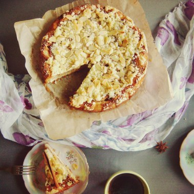 Рецепт грушевого пирога с крошкой
