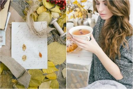 Autumn mood: уютная съемка