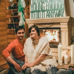 Тепло семейного очага: Надя и Максим