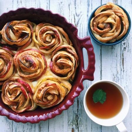 Рецепт пирога-разборника из роз