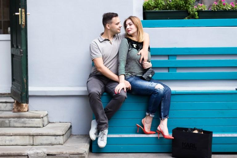 Lovestory: Оля и Дима