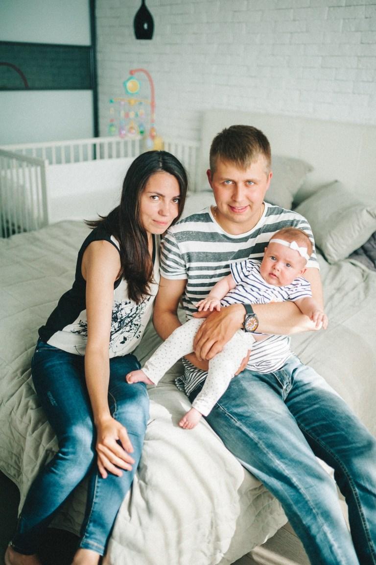 Миша, Катя и Дашенька