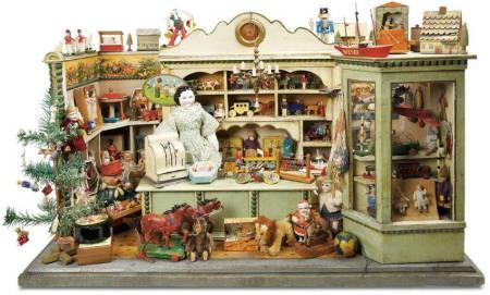 Из истории кукольных домиков