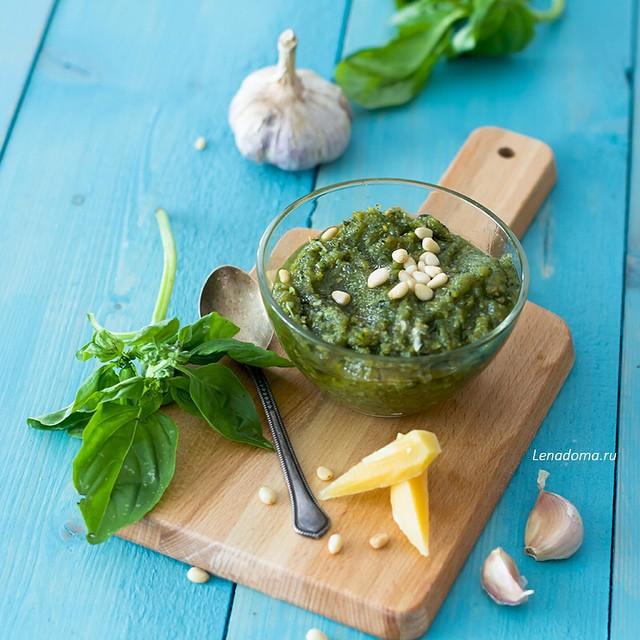 Фирменный рецепт соуса песто от Елены Чазовой