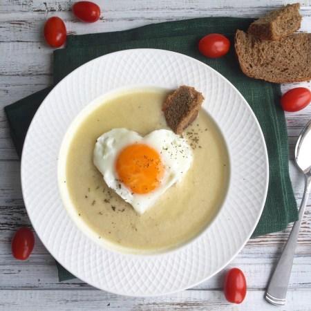 Суп-пюре из индейки и чечевицы