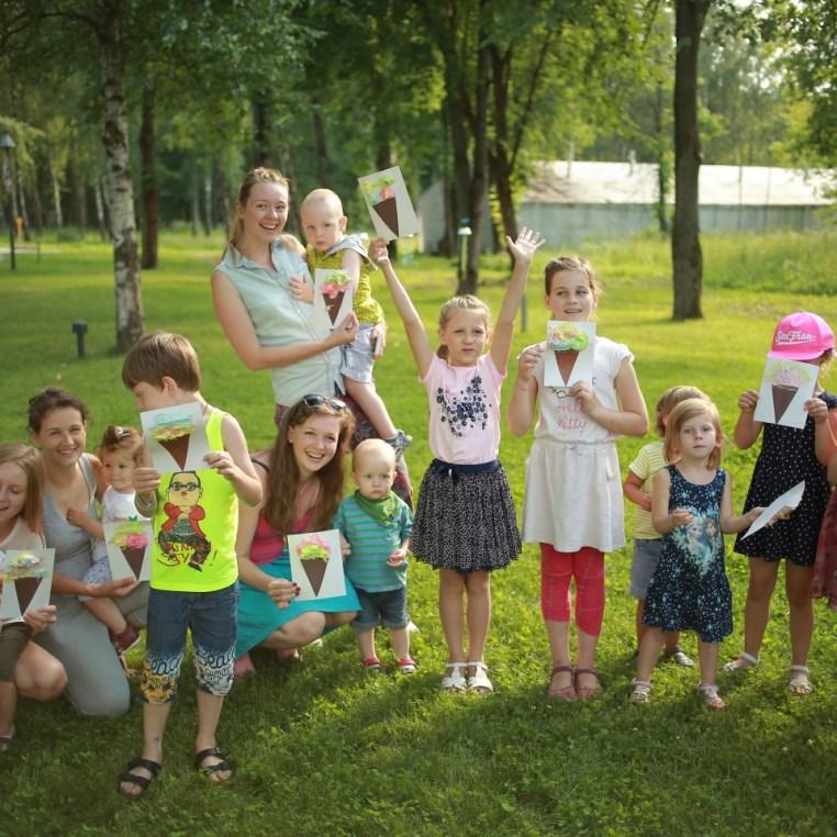 Лагерь для мам и детей в Подмосковье