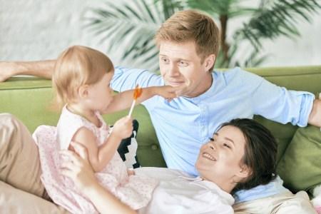 Идеальное семейное утро