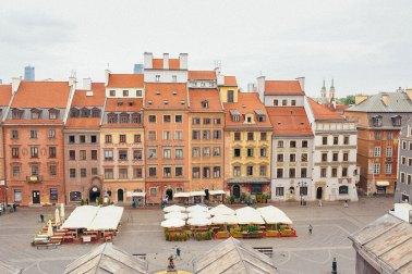 Варшава — путевые заметки