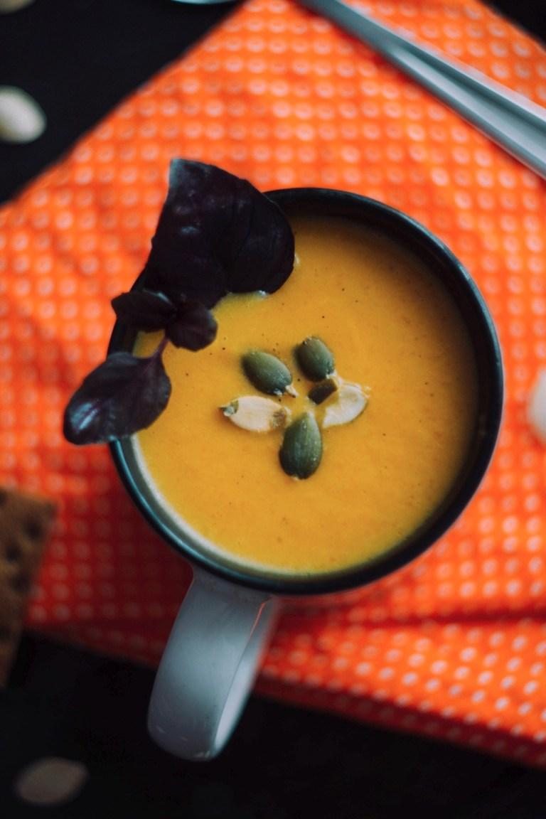 Тыквенный крем-суп «Семейная осень»