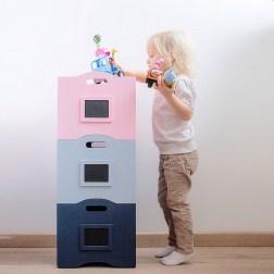 Уютные элементы детской комнаты