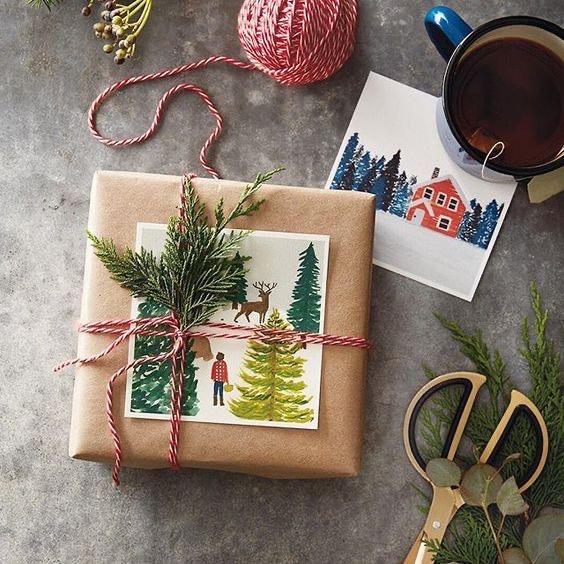 Упаковка подарков. Инструкция