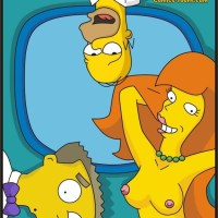 A New Secretary (The Simpsons): This new redhead secretary is slutty enough to fuck not only Homer but also Smithers!