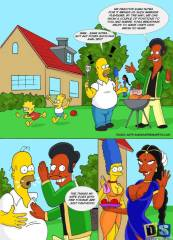 The Simpsons – Picnic With Nahasapeemapetilons