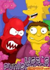 The Simpsons – Lisa's punishment
