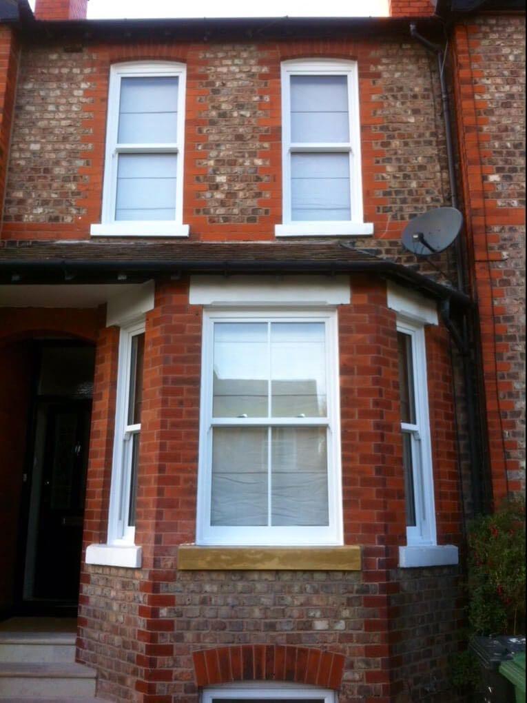 UPVC Sash Windows, Bowdon