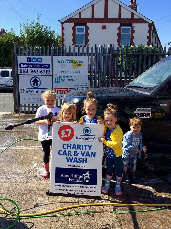 Charity Car Wash Part 2 For The Alex Hulme Foundation