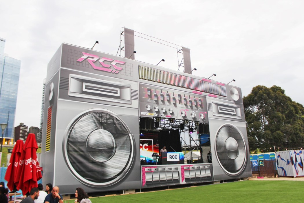 The iconic RCC stereo stage