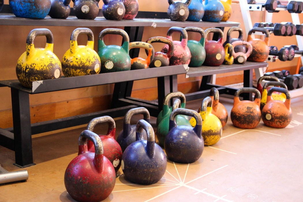 They look innocent enough, but these kettlebells will really amp up any workout.