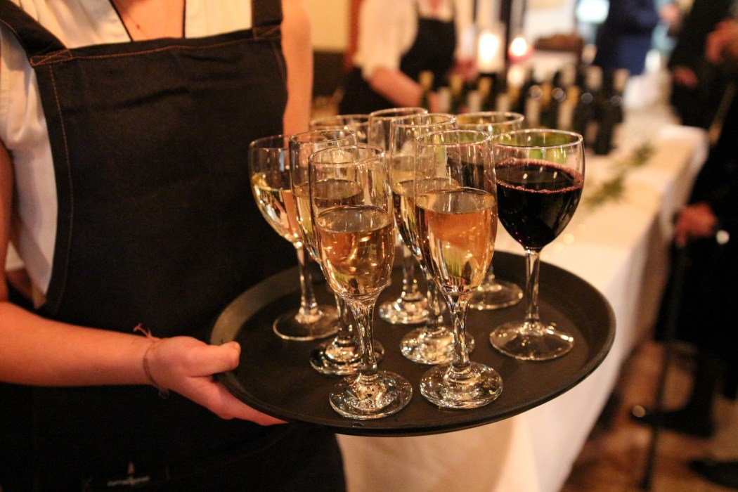 It's not a true French restaurant without some quality champagne.