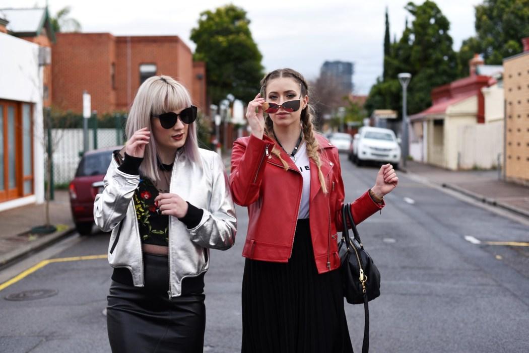 Kristen Byass and Melissa Zahorujko Free at Heart fashion