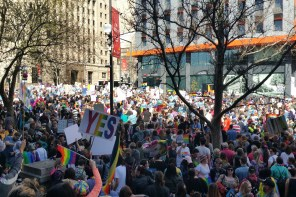 Marriage Equality Rally Makes History