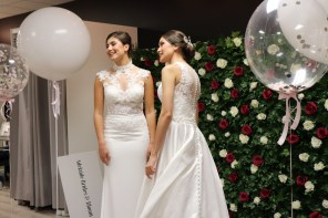 Living Out Our Wedding Dress Fantasies at Brides and Bloom VIP Night