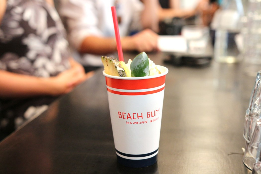 Mocktails and summer vibes at the launch of Beach Bum's city pop up.